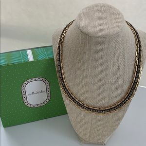 Stella & Dot Jolie Sparkle Chain Link Necklace